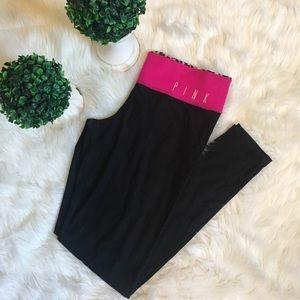 PINK Victoria's Secret Pants - Pink Victoria's Secret leopard reversible leggings