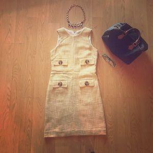 Michael Kors Tweed Sheath Dress