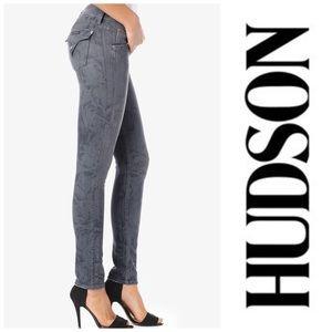 Hudson Jeans Denim - • Collin Skinny in Grey Rose • Hudson Jeans