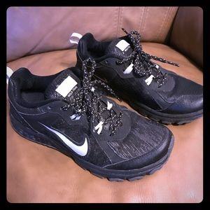 quality design 86a13 56390 Nike Shoes - Nike H20 Repel Wild Trail Sneakers Black