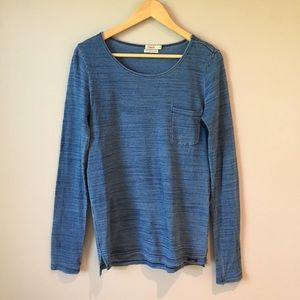 Faherty Tops - Faherty Naturally Dyed Indigo Shirt