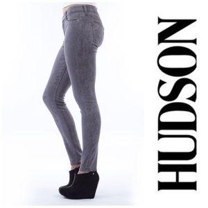 Hudson Jeans Denim - • Nico Super Skinny in Lace Print • Hudson Jeans