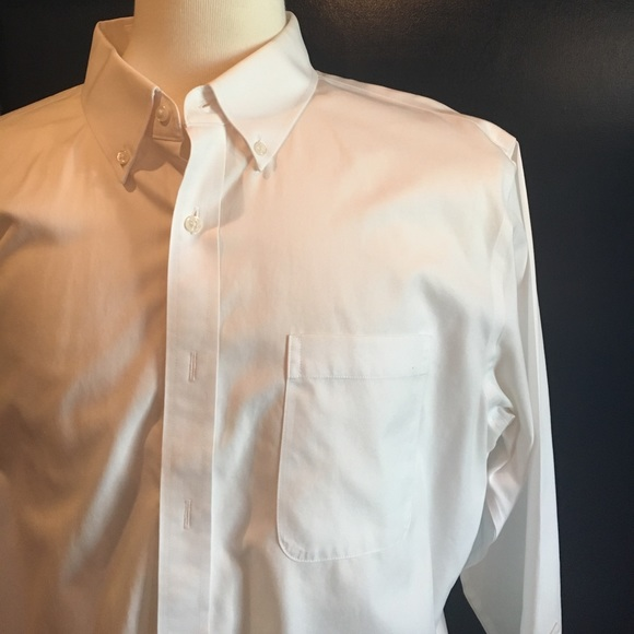 88 off nordstrom other nordstrom men 39 s white button for Mens white button down dress shirts