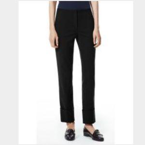 Theory black pants size 4