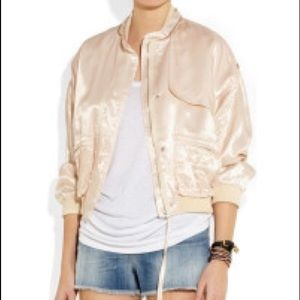 Band Of Outsiders Jackets & Blazers - Band of Outsiders Twill Sateen Bomber Jacket
