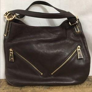 MICHAEL Michael Kors Handbags - Michael Kors Brown Leather Shoulder Bag