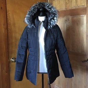 Gerry Weber Jackets & Blazers - SUMMER SALE Gerry Black Down Parka Size Medium
