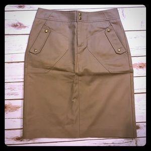 Worthington Dresses & Skirts - High waisted tan Worthington skirt