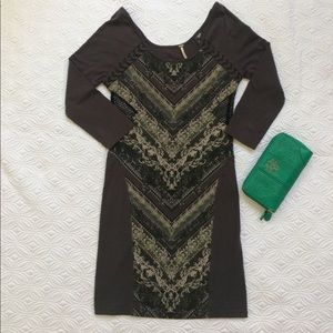 """HP! Free People """"out of africa"""" dress"""