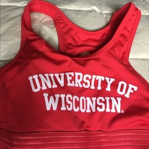 Victoria's Secret Other - Victoria's Secret Pink Wisconsin Sports Bra