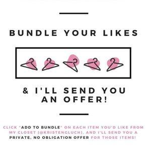 Build a bundle, get an offer!