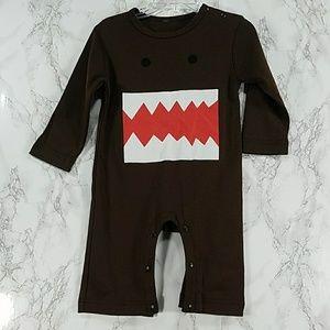 Other - Dark Brown guy teeth bodysuit. Kids