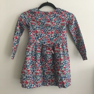 Jacadi Other - Jacadi Paris Long Sleeve Girls Floral Dress