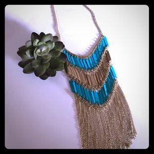 Anna & Ava Jewelry - NWT!! Anna & Ava fringe statement necklace