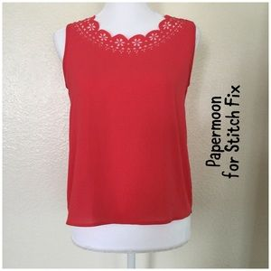 Papermoon Tops - Papermoon for Stitch Fix fuschia blouse