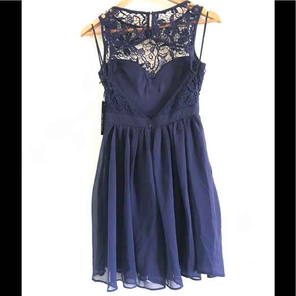 19 off lulus dresses amp skirts jolly song navy blue