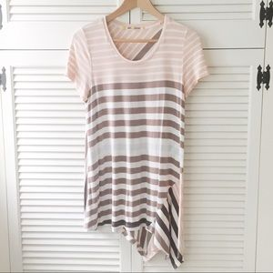 Anthropologie knit striped top