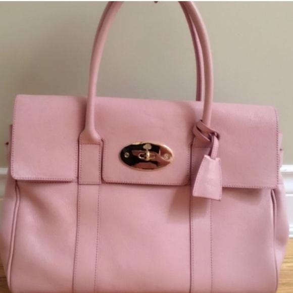08a8239b9dd Blush Pink Mulberry Bayswater bag. M 593d971ec28456929802190b