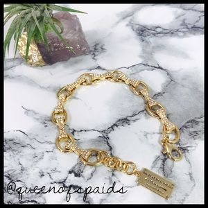 Brighton Jewelry - My Flat in London Gold Bow Bracelet