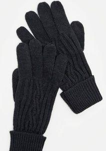 Just Fab Accessories - NIP Black Knitted Mittens