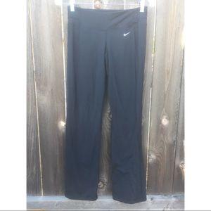 Nike Pants - NIKE DRI-FIT BLACK BOOTCUT PANTS SZ XS