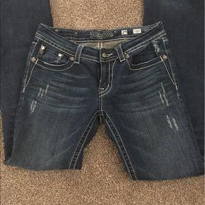 Miss Me 29 boot cut inseam 34 like new