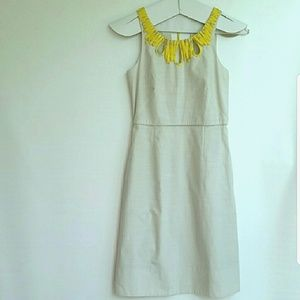 Like NEW! J. CREW Silk Dress Shift  Sleeveles