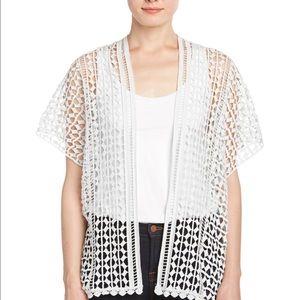 XCVI Tops - XCVI white Kimono west