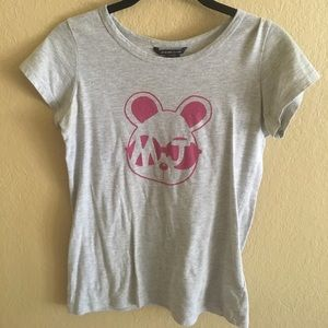 Little Marc Jacobs Other - Little Marc Jacobs Pink/Gray Mouse MJ Shirt Sz. 12