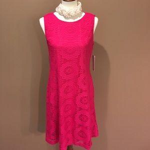 Hot Pink Eliza J Dress