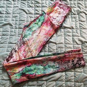 Emily Hsu Designs Pants - Mermaid high waist leggings