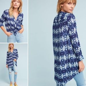 Seen Worn Kept / Anthropologie Olivia Silk Tunic