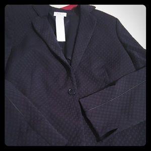 Akris Punto Jackets & Blazers - Size 14 AKRIS PUNTO NAVY JACKET