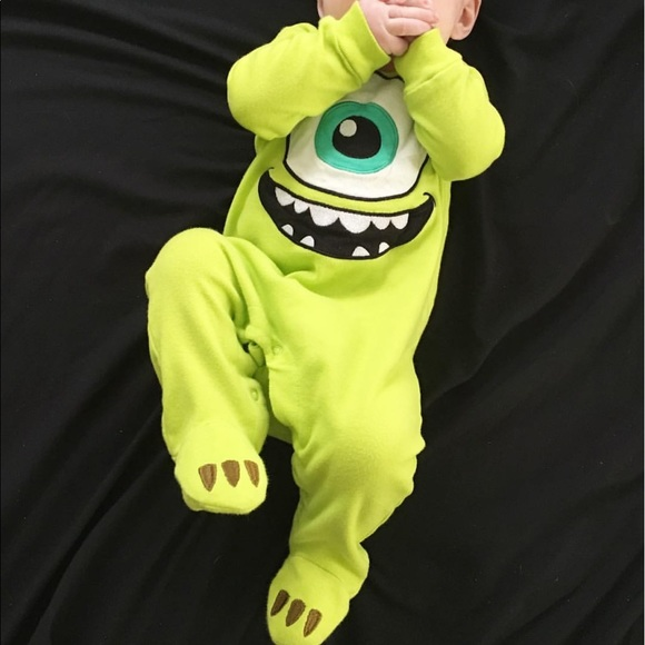 Disney Pajamas Baby Monsters Inc Pjs Poshmark