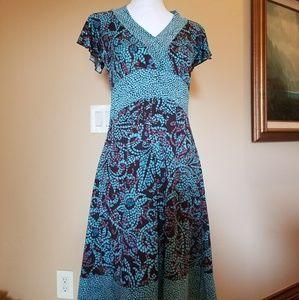 Pretty Turquoise  Dress
