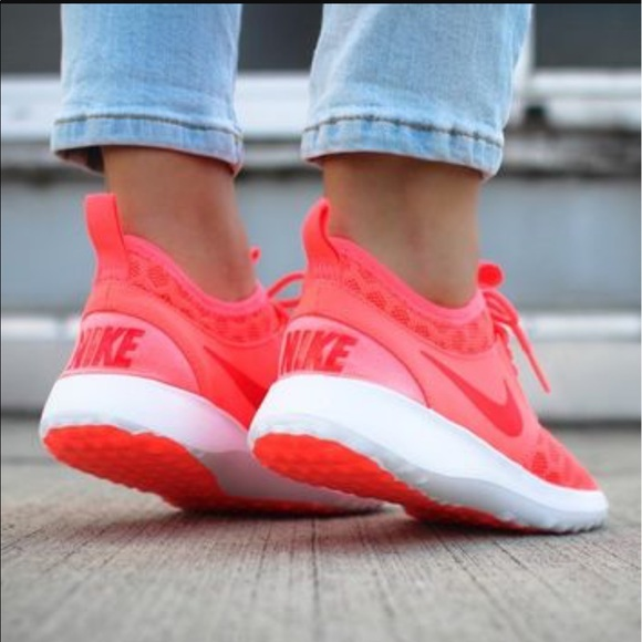 Bright Coral Nike Running Shoes