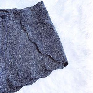 Peach Love California Pants - Peach Love Modern Scalloped Shorts NWT