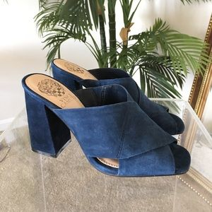 Vince Camuto Shoes - 🆕 Vince Camino Suede Mules