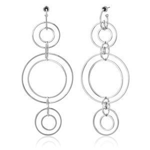 nOir Jewelry Jewelry - nOir Jewelry Clio Multi Hoop Statement Earrings