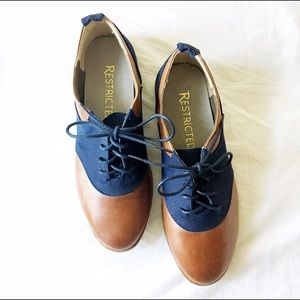 ModCloth Shoes - ModCloth (Restricted) Oxford Flats