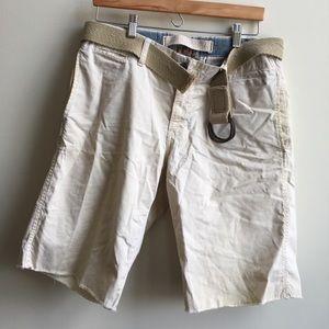 Original Paperbacks Other - Lightweight Khaki Shorts with Belt