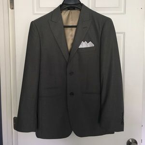 jf j.ferrar Other - J. Ferrar grey men's suit