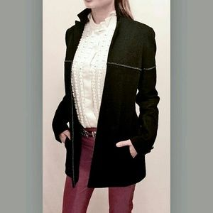 CHANEL Jackets & Blazers - CHANEL JACKET  SHIMERING BLACK  size 38 french