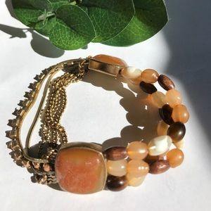 SALE❤️ Beaded bracelet half chain