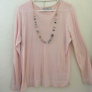 Beautiful Light pink summer sweater