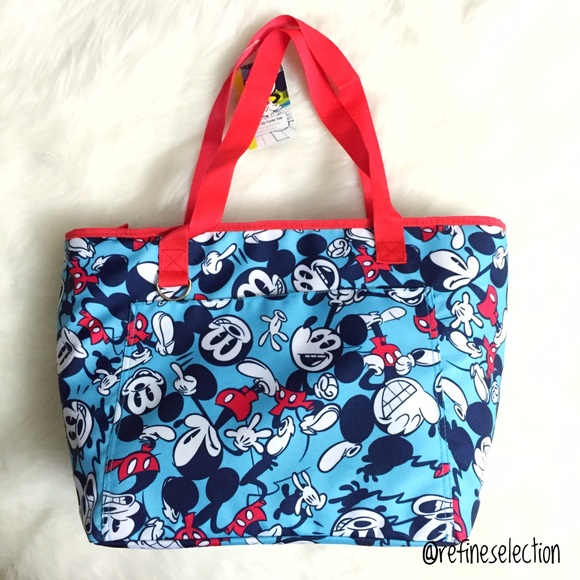 9eb11fcc3b4 Disney Mickey Mouse Large Insulated Cooler Tote