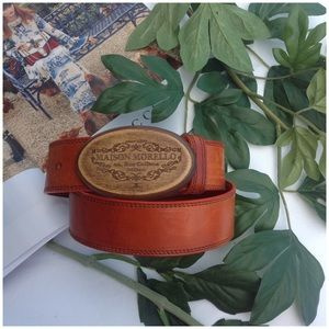 Frankie Morello Accessories - Vintage Style Belt
