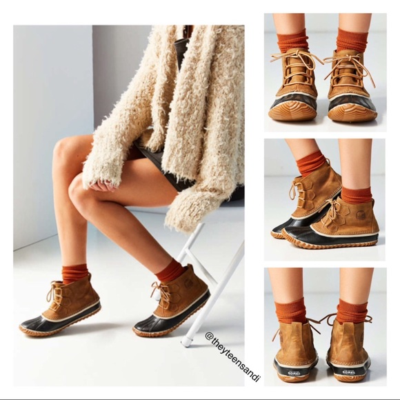 SOREL Out N About Leather Duck Boot Lv9DMd