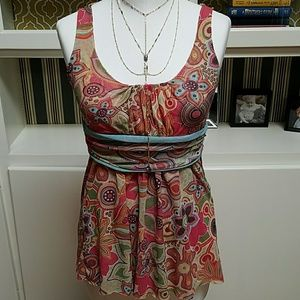  Anthropologie Daisy and Clover top M