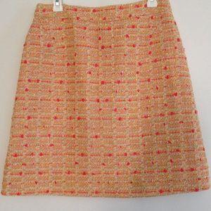 Dresses & Skirts - NWOT. Kate Spade. Orange tweed skirt size 8.